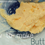 How to Make Butter...in 5 minutes | The Easy Homestead