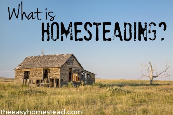 What is Homesteading | The Easy Homestead (.com)